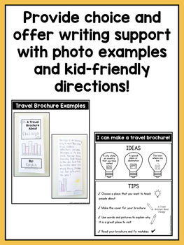 Writing Center Activities for Second Grade