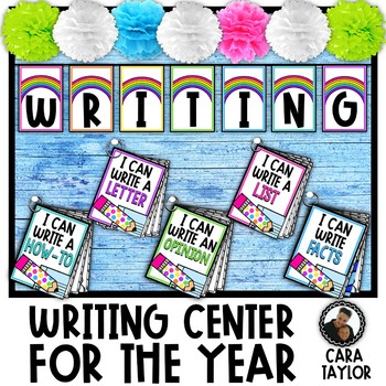 Writing Center Activities for the Year
