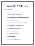 Writing Center Activities/Signs