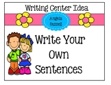 Writing Center Activity