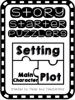 Writing Center Activity: Setting, Main Character, and Plot to Help Get Writing!
