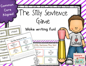 Writing Center Activity - Silly Sentences