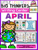 Writing Center April (16 Writing Activities and 162 Pictur