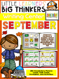 writing center September (16 Writing Activities and 250 Picture Cards)