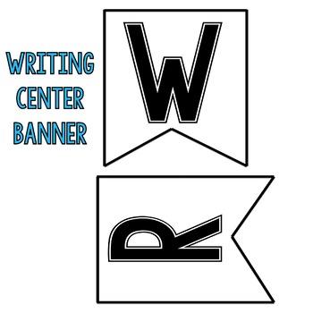 Writing Center Display [Polka Dot]