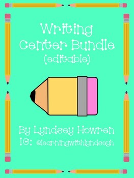 Writing Center Bundle
