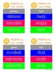 Writing Center Cards- Brighten Up Adjectives