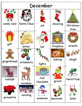 Writing Center Cards- December