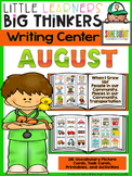 writing center August (16 Writing Activities and 216 Picture Cards)