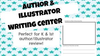 Writing Center FREEBIE: Author & Illustrator