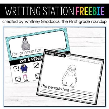 Writing Center FREEBIE for Kindergarten