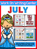writing center Fairy Tales (16 Writing Activities and 250 Picture Cards)