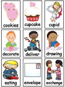 writing center February (16 Writing Activities and 239 Picture Cards)