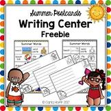 Writing Center Freebie!  Summer Postcards