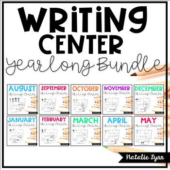 Writing Center Year Long Bundle