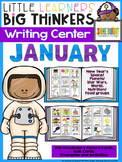 Writing Center January (16 Writing Activities and 338 Picture Cards)