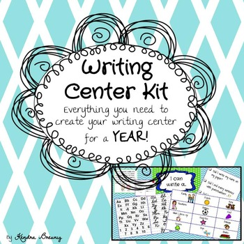 Writing Center Kit  {Everything you need for a YEAR}