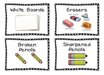 Writing Center Labels