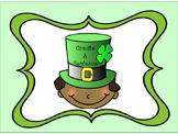 Writing Center: Leprechaun Build A Sentence Subject Verb a