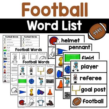 Football Words