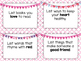 Writing Center List Prompt Cards