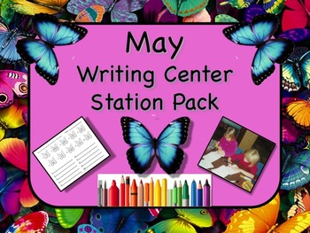 Writing Center Literacy Station for May  - Mounds of Fun!!