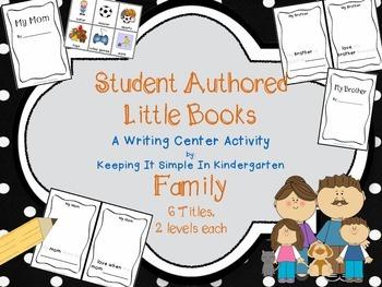 Writing Center: Little Books