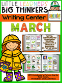 Writing Center March (16 Writing Activities and 178 Picture Cards)