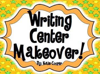 Writing Center Materials