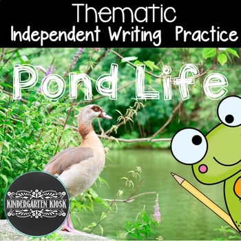 Pond Theme Writing and Literacy Center Activities