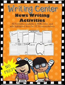 Writing Center: Daily 5 Work on Writing