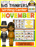writing center November (16 Writing Activities and 300 Picture Cards)