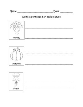 November Writing Center Packet