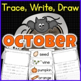 October Trace Write Draw