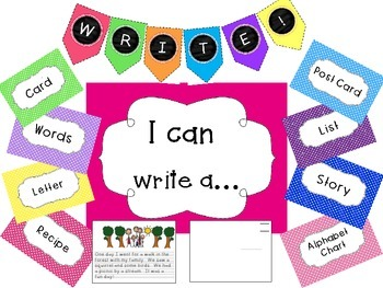 Writing Center Pack