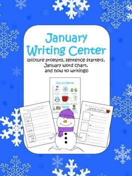 January Writing Center Packet