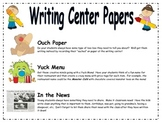 Writing Center Papers