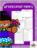 Writing Center Papers Primary Lines