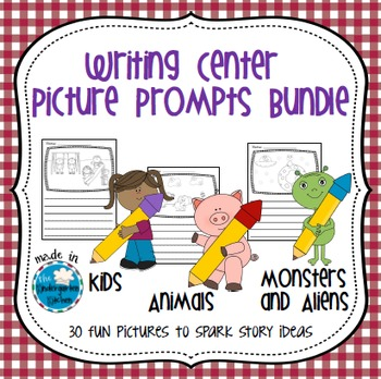 Writing Center Picture Prompts Bundle