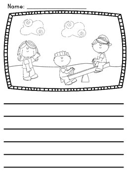 Writing Center Picture Prompts Freebie