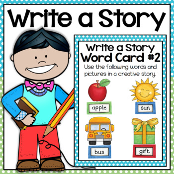 Writing Center: Pictures and Words Cards