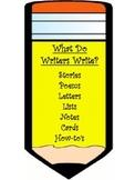 #Mondaymadness Writing Center Poster