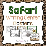 Classroom Decor {Safari} Writing Center Posters