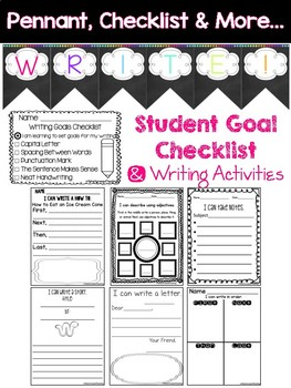 Writing Center {Posters, Checklists, Activities, & More}