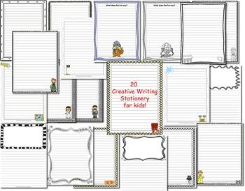 Writing Center Printables Kit