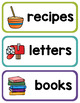 Writing Center Printables - Poster, Banner, and Labels