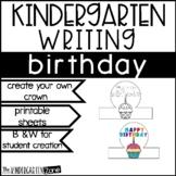 Writing Center Printables for Birthdays