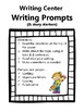 February Writing Prompt Center