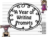 Writing Center Prompts For The Year