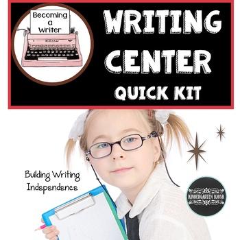 Writing Center Starter Kit:  Writing Essentials